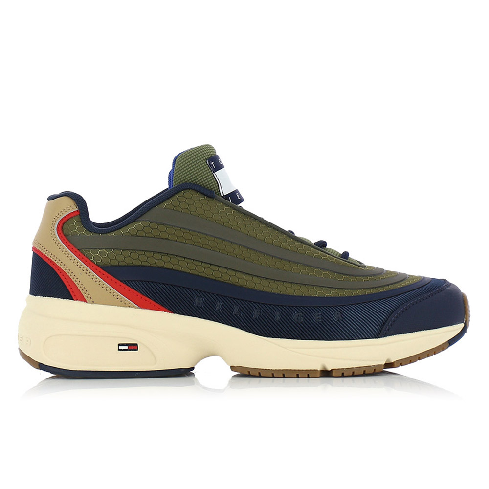 TOMMY HILFIGER – Sneakers HERITAGE MODERN MIX TJM RUNNER ΑΝΔΡ. ΥΠΟΔΗΜΑ