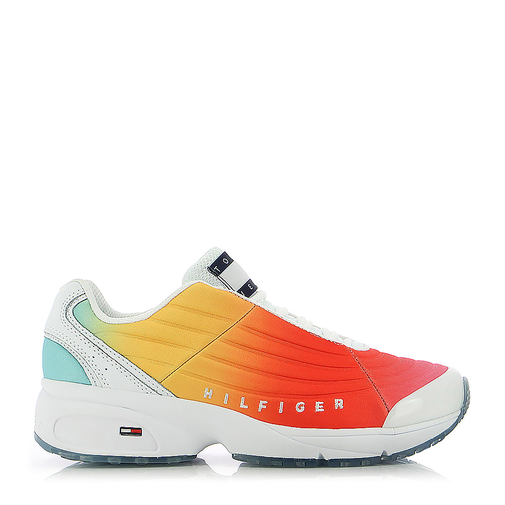 TOMMY HILFIGER – Sneakers WMNS HERITAGE DEGRADE SNEAKER ΓΥΝ. ΥΠΟΔΗΜΑ