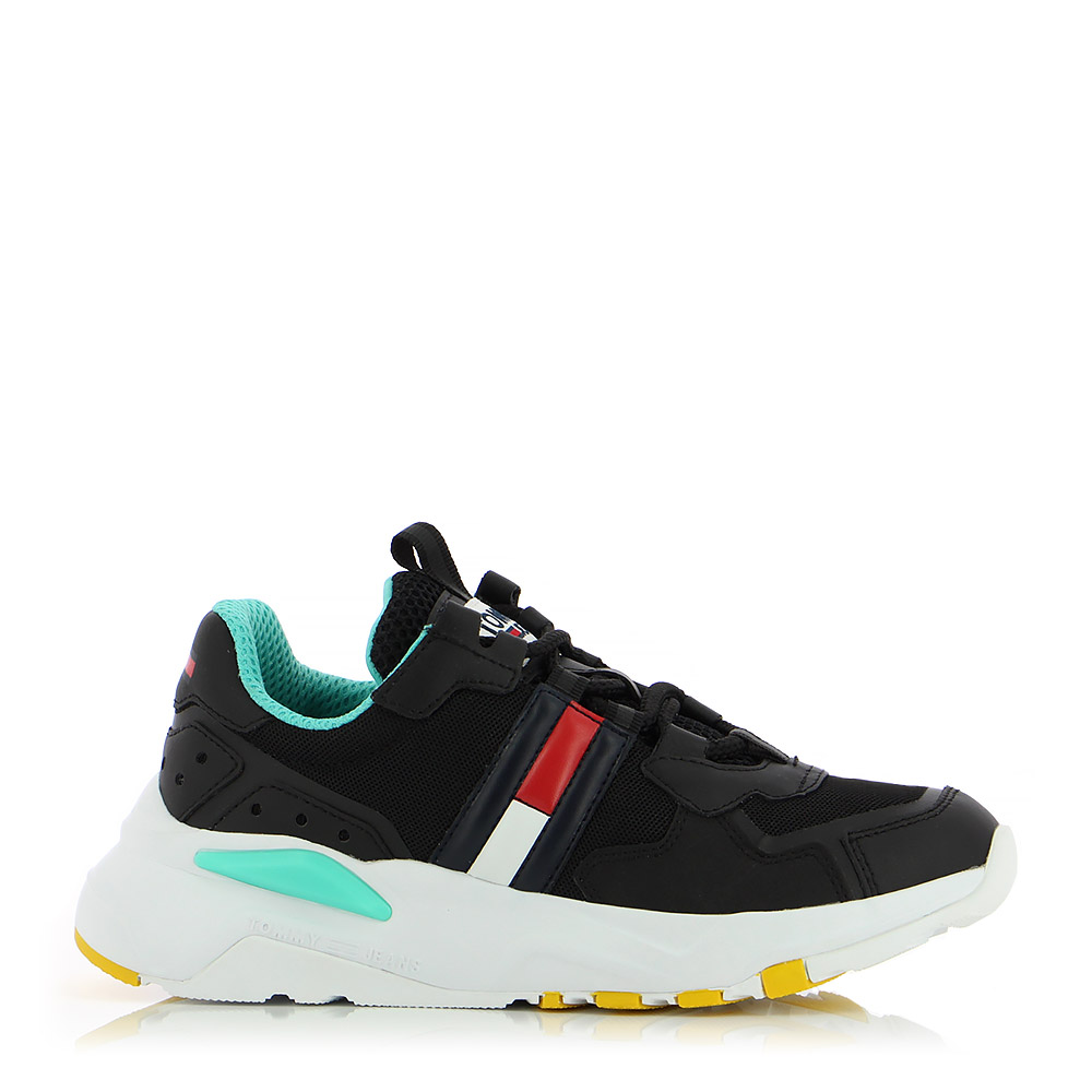 TOMMY HILFIGER – Sneakers WMN TOMMY JEANS COOL RUNNER ΓΥΝ. ΥΠΟΔΗΜΑ