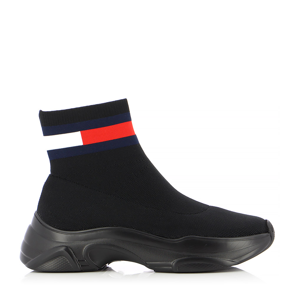 TOMMY HILFIGER - Sneakers TOMMY JEANS FLAT SOCK BOOT ΓΥΝ. ΥΠΟΔΗΜΑ