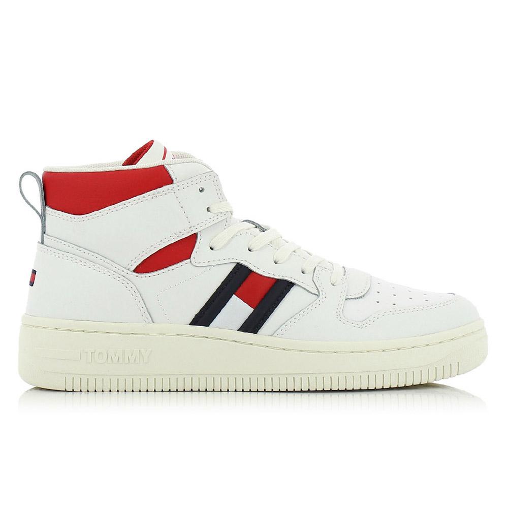 TOMMY HILFIGER – Sneakers MID CUT BASKET SNEAKER ΓΥΝ. ΥΠΟΔΗΜΑ