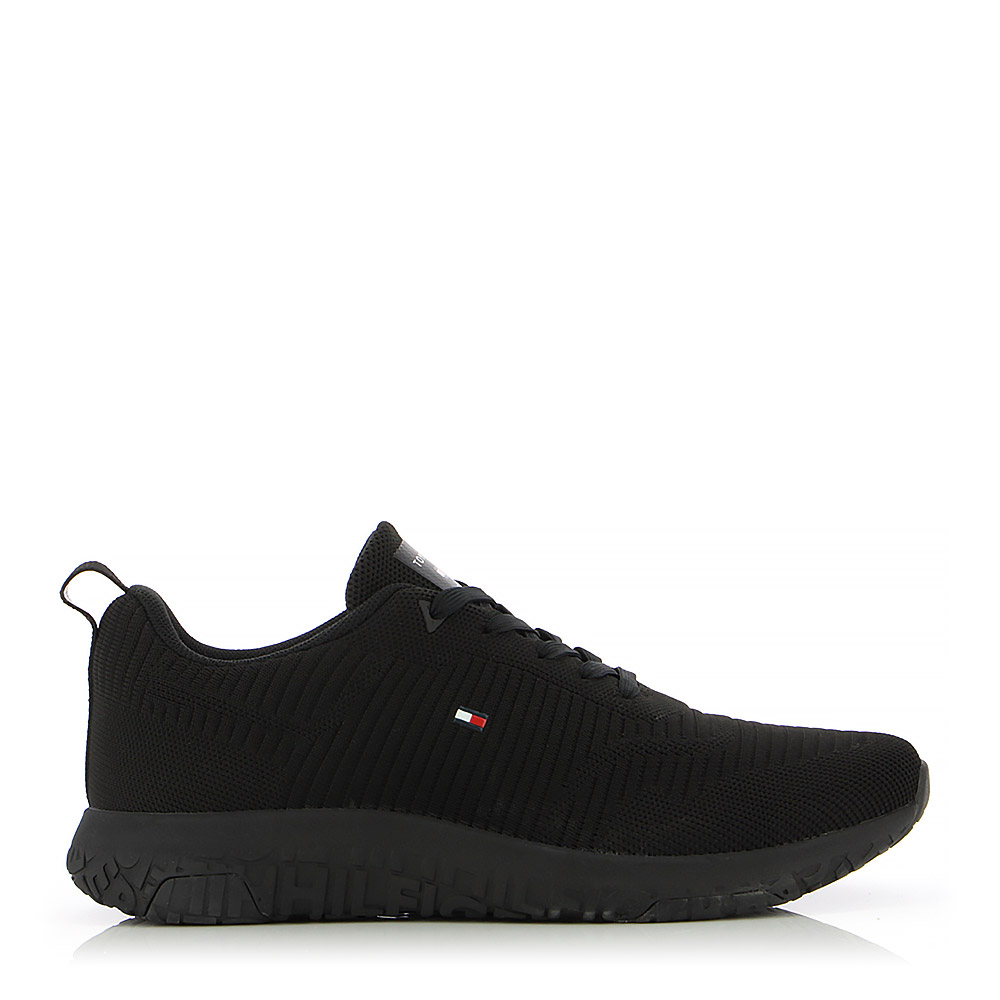 TOMMY HILFIGER – Sneakers CORPORATE KNIT RIB RUNNER ΑΝΔΡ. ΥΠΟΔΗΜΑ