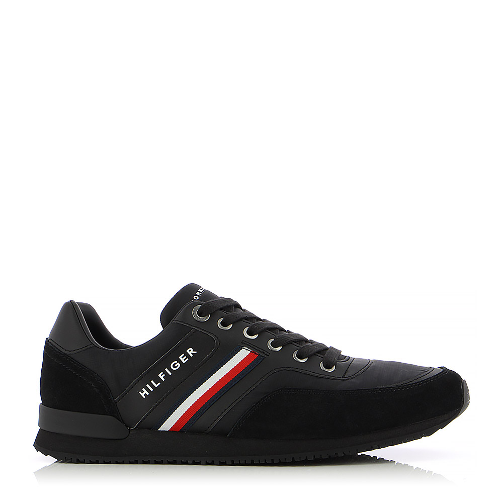 TOMMY HILFIGER – Sneakers ICONIC MATERIAL MIX RUNNER ΑΝΔΡ. ΥΠΟΔΗΜΑ