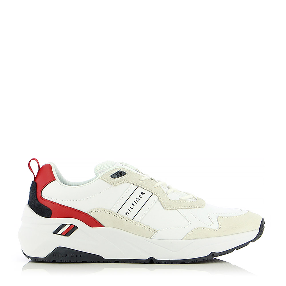 TOMMY HILFIGER – Sneakers PREMIUM LEATHER RUNNER DETAIL ΑΝΔΡ. ΥΠΟΔΗΜΑ