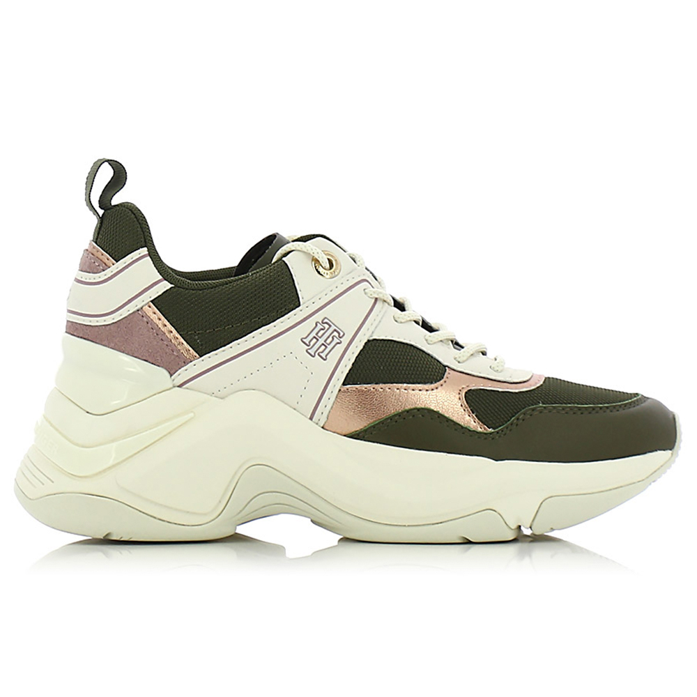 TOMMY HILFIGER – Sneakers FASHION WEDGE SNEAKER ΓΥΝ. ΥΠΟΔΗΜΑ