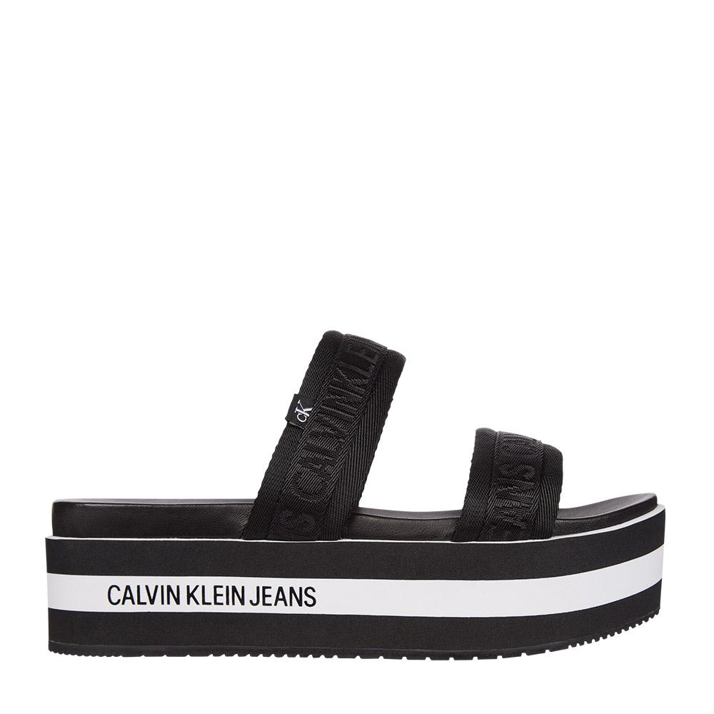 Calvin Klein – Πλατφόρμες WEDGE PF SANDAL TWOSTRAPS PES ΓΥΝ. ΥΠΟΔΗΜΑ