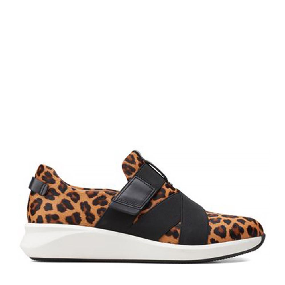 Clarks – Sneakers Un Rio Strap Leopard ΓΥΝ. ΥΠΟΔΗΜΑ