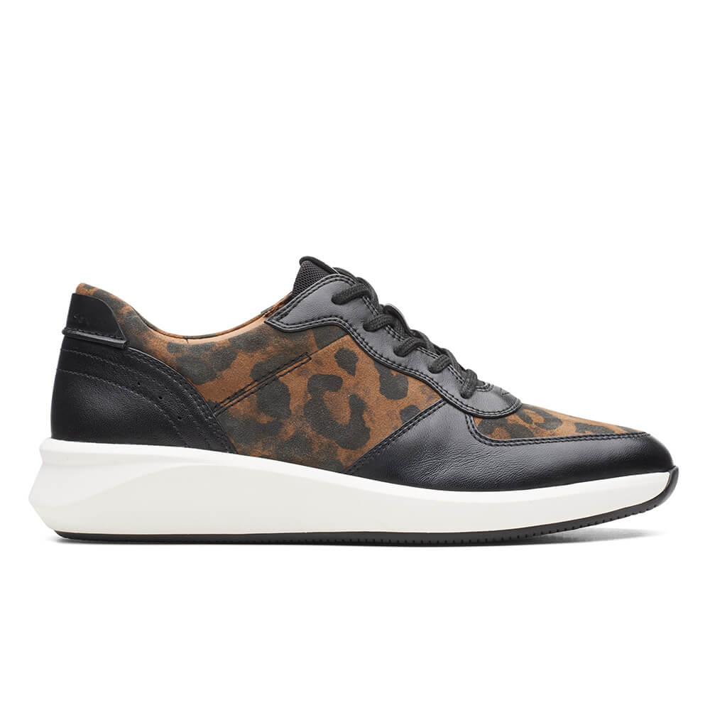 Clarks – Sneakers Un Rio Sprint Leopard ΓΥΝ. ΥΠΟΔΗΜΑ